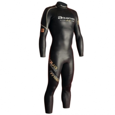 Aquaman Cell gold Fullsleeve wetsuit men